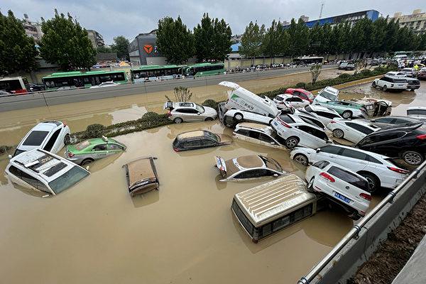唐青:鄭州「千年大水」 靜等習近平指示