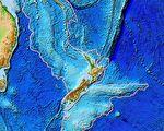 新西蘭底下有一塊失落的大陸