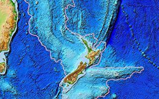 新西兰底下有一块失落的大陆