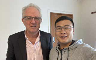 邢鉴:我与新西兰国会议员见面