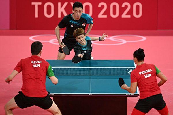 东奥7.24|港队16强混双乒乓球4比0大胜匈牙利 明战法国