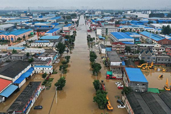 钟原:河堤决口 河南承认泄洪