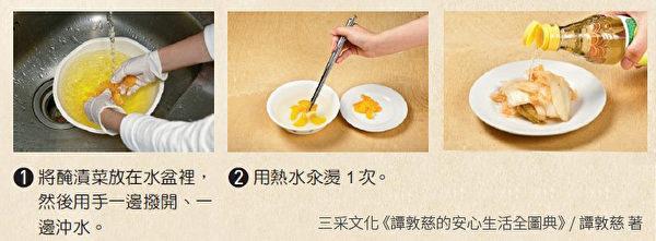 腌渍菜(如酸菜、酸白菜、雪里红)的方法。(三采文化提供)
