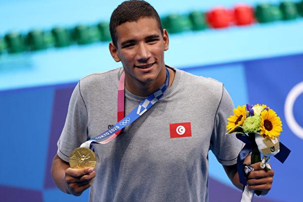 突尼斯小將爆大冷門 奧運400米自由泳奪冠
