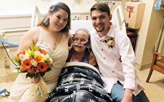 外孫女將婚禮搬進病房 完成外祖母臨終遺願