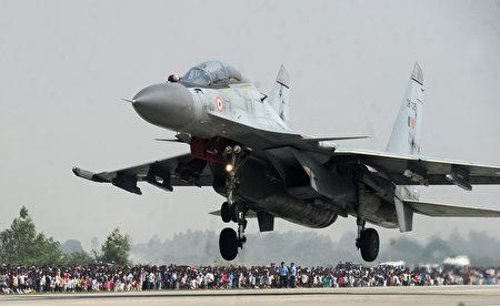 圖為印度空軍的Su-30戰機。
