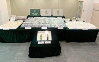 香港海關破獲3宗大型毒品案 市值超過2.3億元
