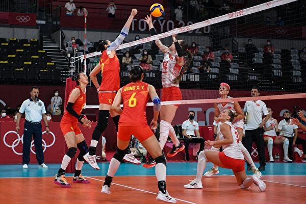 中国女排首战0:3惨败土耳其 小组出线成疑