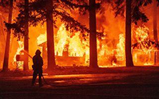 迪克西山火合併弗萊山火 延燒近20萬英畝
