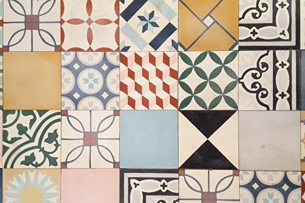 傳承200年 埃及工匠以傳統方法做水泥花磚