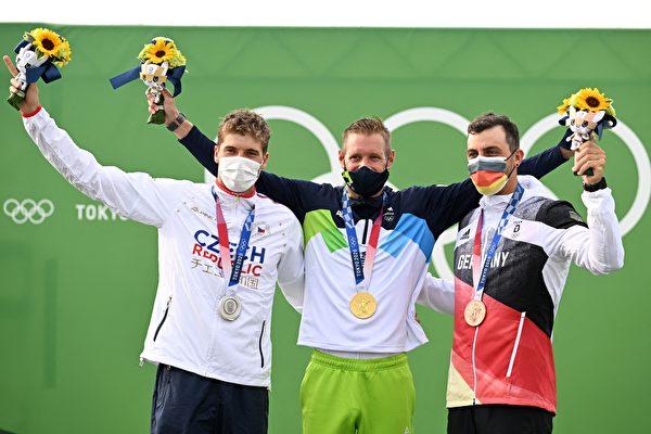 组图:东奥7.26激流皮划艇 斯洛文尼亚夺冠
