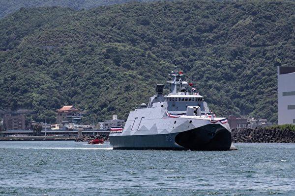 台湾塔江舰交舰防空火力强 捍卫台海添生力军