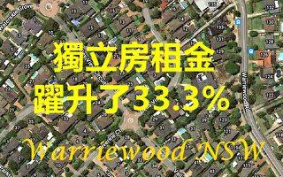 悉尼房租何处大涨 何处大降?