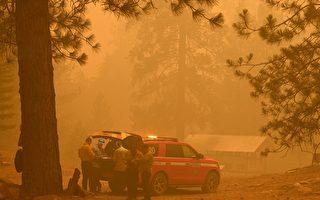 北加州迪克西山火擴大 當局使用無人機救災