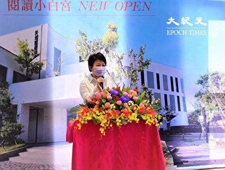盧秀燕表示為了鼓勵民眾上圖書館,必須打造良好的閱讀環境。