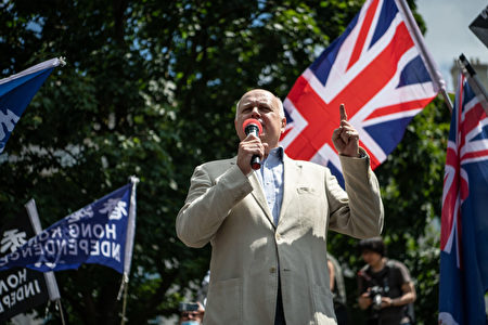 因批評中共 英國保守黨前領袖被直接威脅