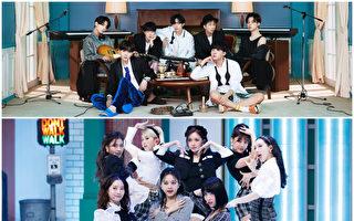 BTS与TWICE作品创佳绩 获日本唱片协会认证