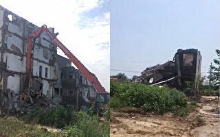 鄭州拆遷爛尾樓成危房 鄰居反映險遭一併拆除