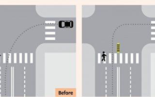 防汽车高速左转 多伦多8十字路口安装减速带