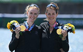东京奥运会 新西兰双人赛艇项目摘得首金