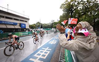 组图:疫情下的东京奥运 民众加油热情不减