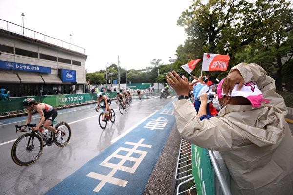 組圖:疫情下的東京奧運 民眾加油熱情不減