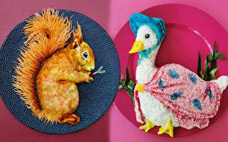 組圖:宛如藝術品的餐盤佳餚 創意媽成網紅