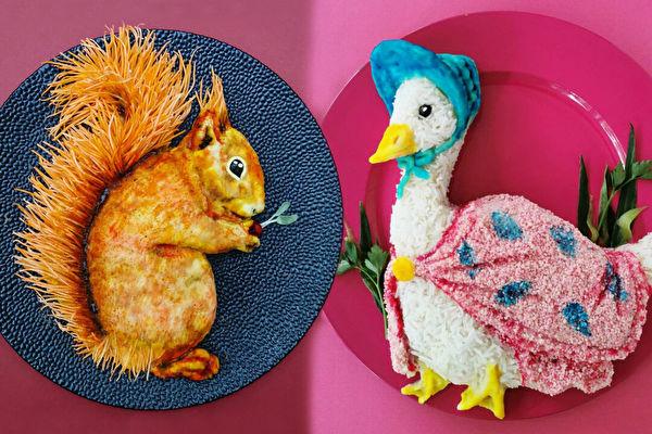 组图:宛如艺术品的餐盘佳肴 创意妈成网红