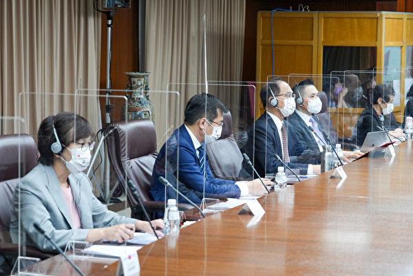 游錫堃等人參加台美日國會議員戰略論壇