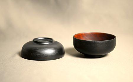 2021台中文创选品,光山行本色漆器汤碗。