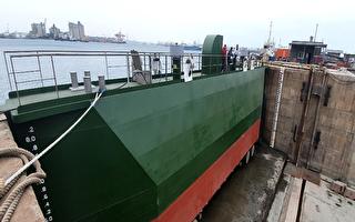 港務分公司新製塢門啟用 維修能量再升級