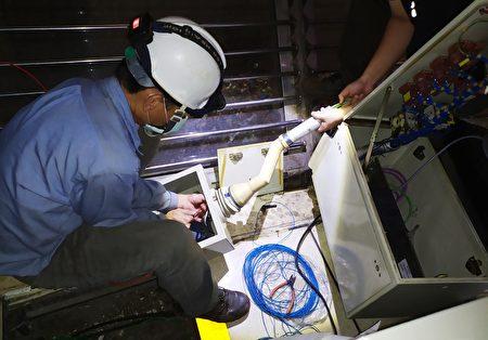 嘉义市垃圾焚化厂扩大岁修工程完工。