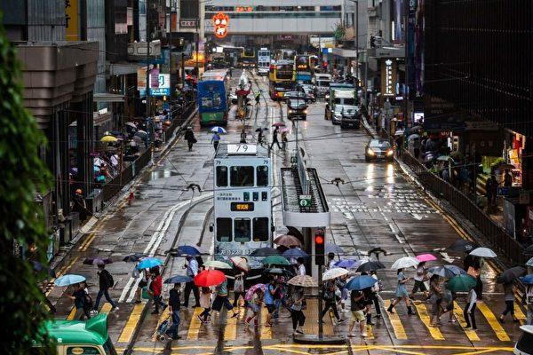 香港GDP第二季年比增7.5% 惟按季卻收縮1%