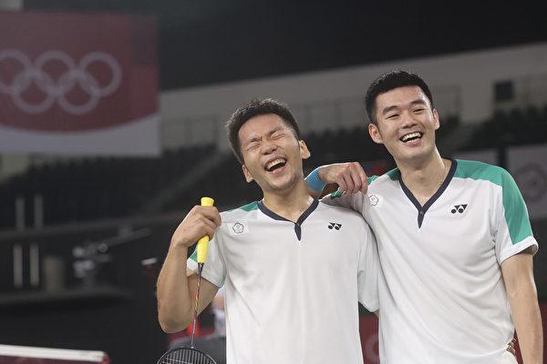 台湾东奥第二金 羽球男双麟洋配击败中国队