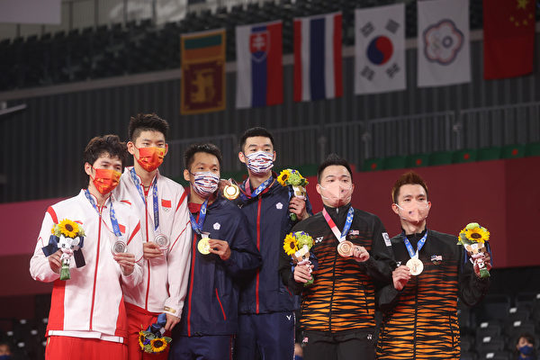 东奥羽球男双台湾夺金写历史