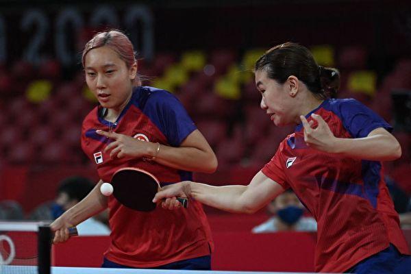 东奥8.1|女乒团港队3:1击败巴西 晋级八强
