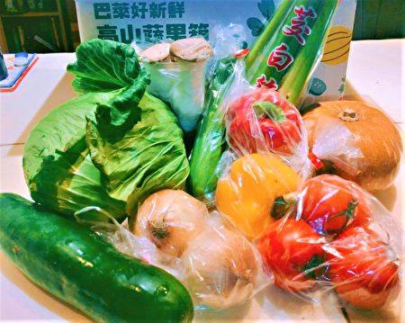 原民高山区蔬菜箱在疫情期间也爆红,深受消费者喜爱,赞CP值超高。