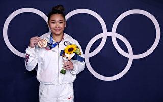 东奥会高低杠决赛 美苗裔女选手摘铜牌