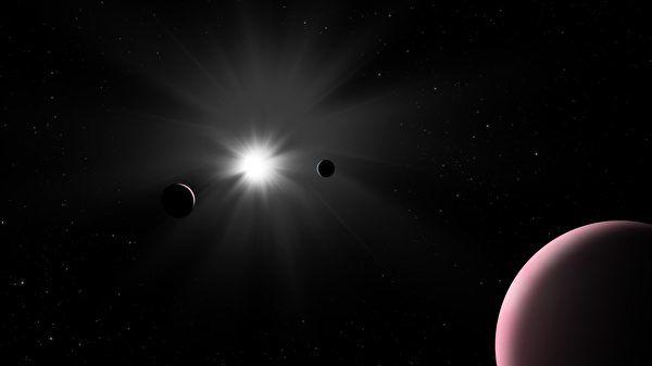 新發現獨特系外行星含水量比地球還多