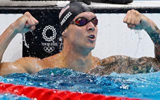 美泳将德莱赛尔 囊括东奥五金