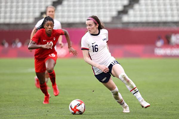 加拿大女足击败美国队 首次闯入奥运决赛