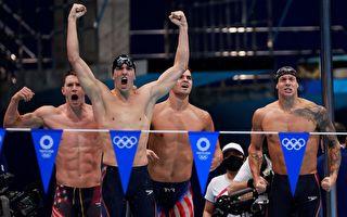 奥运游泳 美澳龙虎争峰 英跃居第3 中国第4