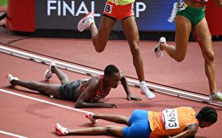 荷蘭女將比賽中跌倒 起身暴衝加速追成第一