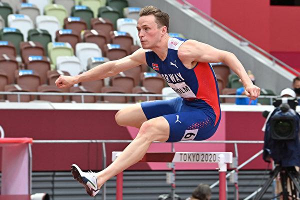 東奧男子400米跨欄 挪威名將再破世界紀錄