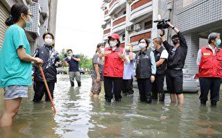 云林沿海乡镇淹水 张丽善:通盘检讨排水功能