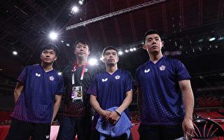 東奧桌球男團台灣8強不敵德國 並列第5名