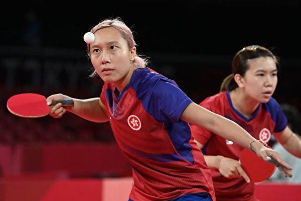 东奥8.3 港队女乒团半决赛失败 8.5争夺铜牌