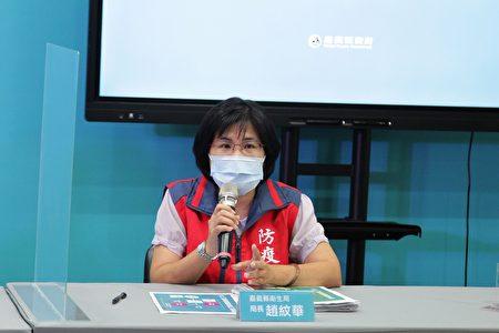 嘉义县3日下午召开防疫说明记者会,卫生局长赵纹华呼吁,防疫不能侥幸,确实做好个人防疫,才能减少防疫漏洞。