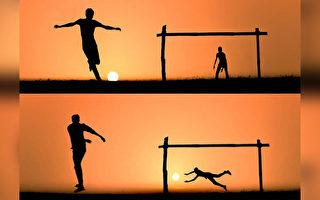 组图:摄影师巧用美丽的日落讲述动人故事