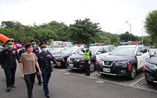 41辆新型警用车上路 台东员警值勤添利器
